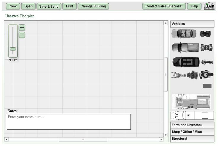 Try it out! Design a Cleary Building with this nifty Floor Planner