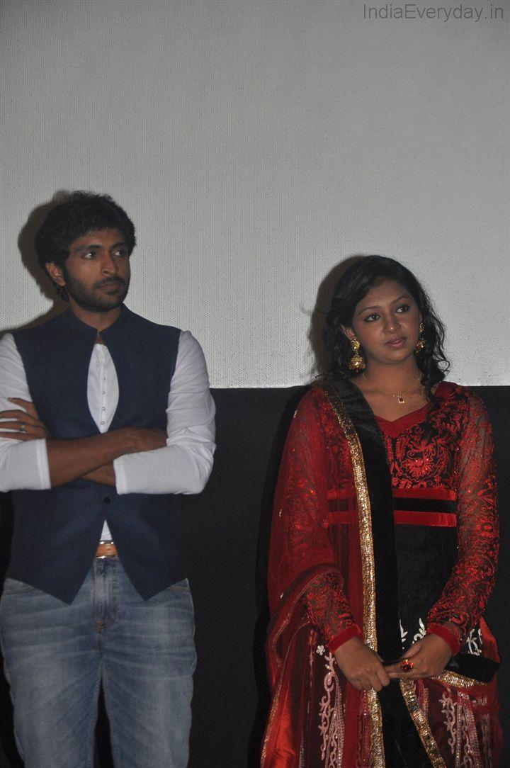 Lakshmi Menon and Vikram Prabhu in Kumki Audio Launch