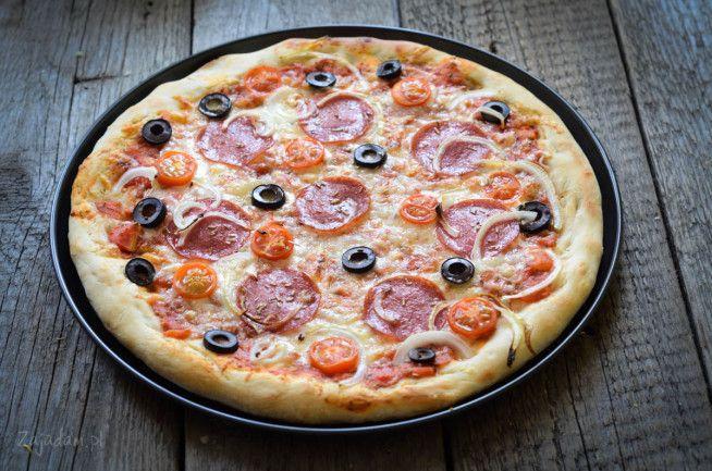 pizza ciasto przepis