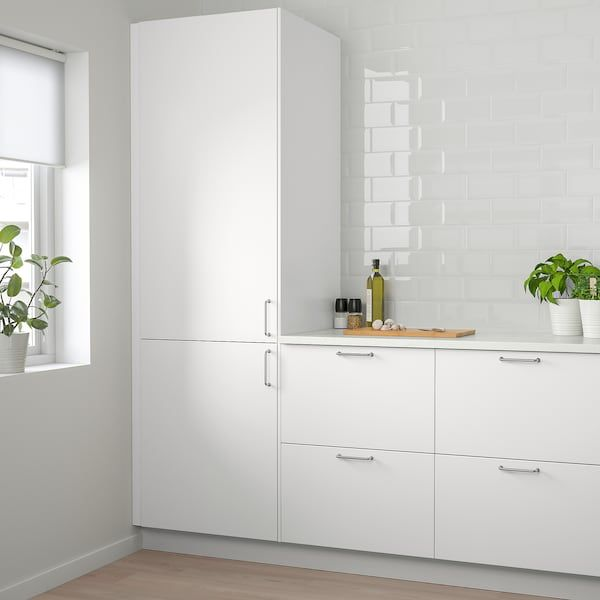 Veddinge Door White 18x30 Ikea In 2020 Modern Kitchen Doors Ikea Kitchen Ikea