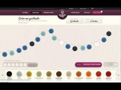 Créez votre guirlande led en boule de coton multicolore !