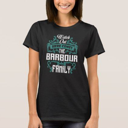 The BARBOUR Family. Gift Birthday T-Shirt - Xmas ChristmasEve Christmas Eve Christmas merry xmas family kids gifts holidays Santa