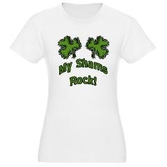 PERFECT for #StPatricksDay My Shams Rock! Jr. Jersey T-Shirt > My Shams Rock! > Jinxed Designs