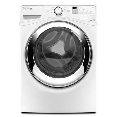 Whirlpool WFW87HEDW Duet 5-cu ft High-Efficiency Stackable Front-Load Washer Steam Cycle ENERGY STAR