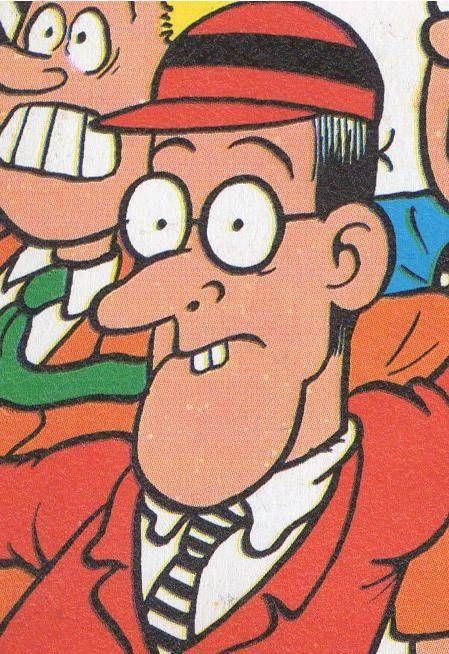 Cuthbert Cringeworthy, The Beano Comic