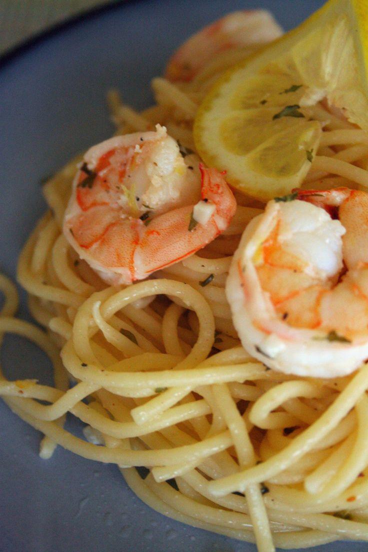 Spaghetti Shrimp Scampi
