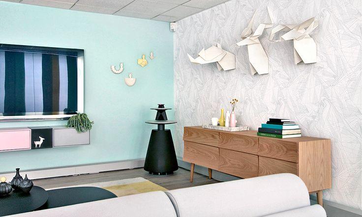 Bang & Olufsen showroom interiors by WhatWeDo: http://www.whatwedo.dk/?case=BangAndOlufsen_ShowRoom