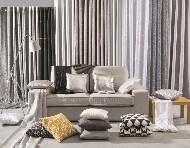 Srebrne dodatki sprawią, że mieszkanie stanie się bardziej stylowe i nowoczesne #grey #silver #interiordesign  #interior #autumn #elegant #style #wnetrza #salon #srebro #decoration  #decor #obipolska #obibowarto