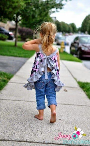 Pinafore Sewing Pattern, Newborn to 4 Years, Baby, Toddler Pattern