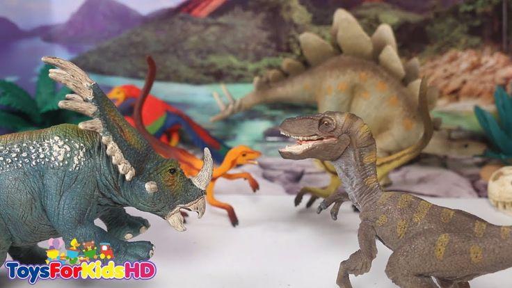 Videos de Dinosaurios para niños Lo Mejor de los Dinosaurios de Juguetes Schleich Dinosaurios