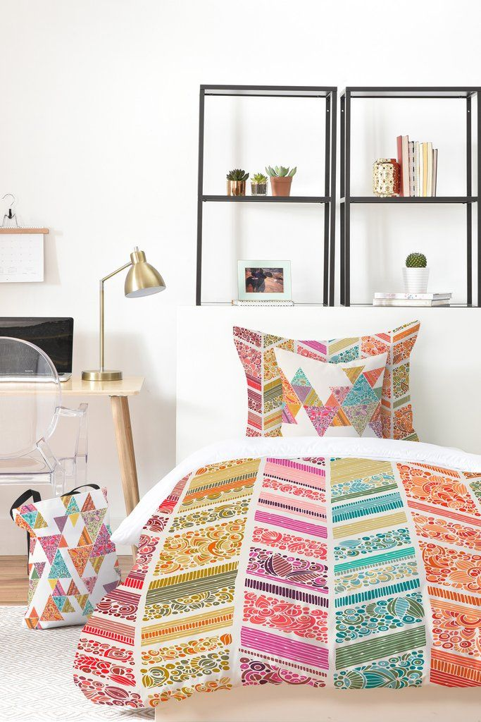 Stop And Smell The Roses Bed In A Bag | DENY Designs Home Accessories