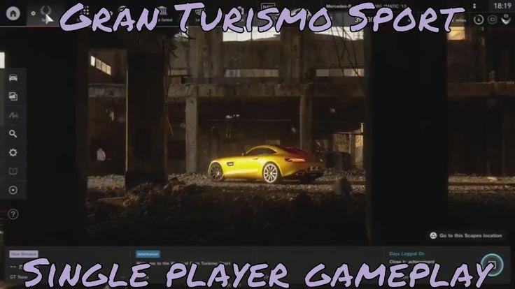 Gran Turismo Sport Single player Gameplay  PlayStation Underground