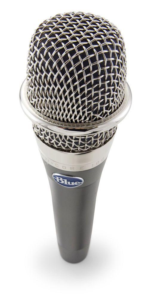 Mikrofon wokalowy Blue enCORE 100 | Nagłośnienie \ Mikrofony \ Dynamiczne | Sprzet-Dyskotekowy.pl - największy i najtańszy sklep internetowy z oświetleniem i nagłośnieniem w Polsce