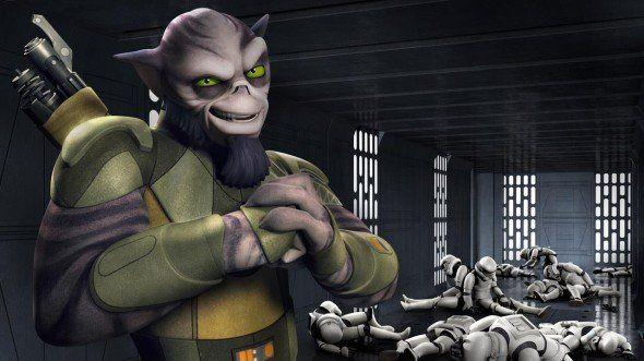 Conoce a Zeb y a Sabine, los nuevos personajes de Star Wars Rebels