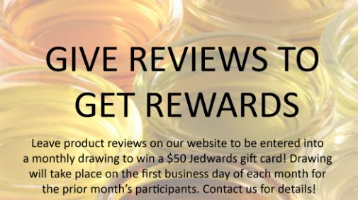 Give Reviews, Get Rewards
