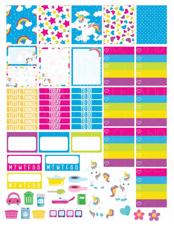 November Monthly Kits! | Free Printable Planner Stickers ...