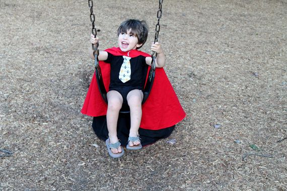 Reversible Kid's Cape Sewing Pattern by stickysugarstitches, $5.00