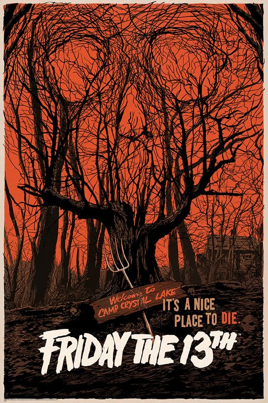Mondo Releasing Friday the 13th Poster