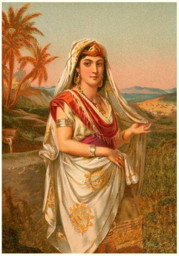 Abigail - David's third wife, she bears David's second son Chileab (2 Sam 3:3).