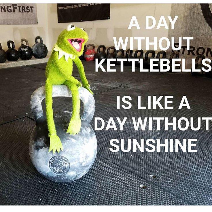 It's always sunny at Kettlebell Kings! #kettlebells #kettlebell…