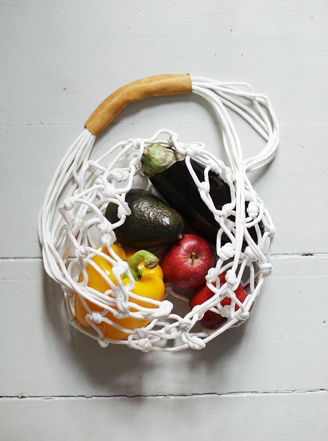 DIY Rope Market Bag   The Merrythought   Bloglovin'