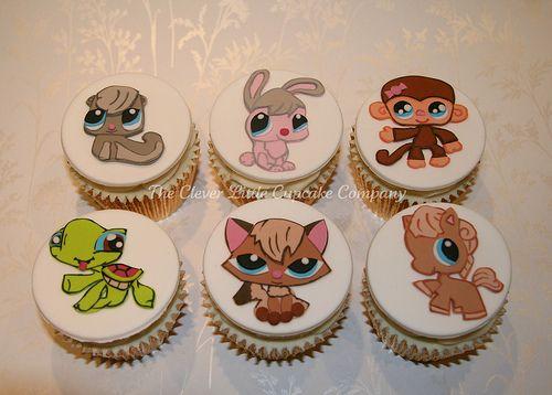 Littleset Pet Shop Cupcakes