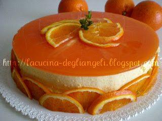 La cucina degli Angeli: Bavarese all' arancia