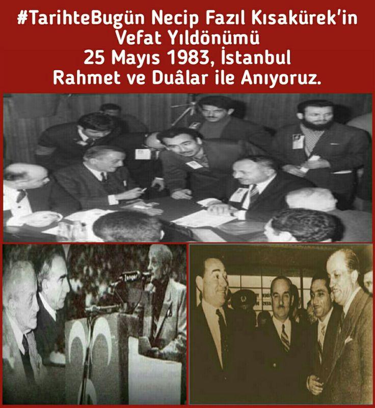 #TarihteBugün Necip Fazıl Kısakürek'in Vefat Yıldönümü 25 Mayıs 1983, İstanbul. Rahmet ve Duâlar ile Anıyoruz. #NecipFazılKısakürek #Nfk #NecipFazıl #AdnanMenderes #NecmettinErbakan #AlparslanTürkeş #ottoman_1453_2023 #osmanlı_1453_2023 #yasirpalestine #siyaset #sarpertr #sondakika #gündem #türkiye #devlet #milletvekili #başbakan #cumhurbaşkanı #mhp #akp #ülkücü #türk #turan #uluönder #başbuğ #tarih #seneidevriye #istanbul #ankara #başkent #google #bozkurt #yucelturanofficial #turanşairi…