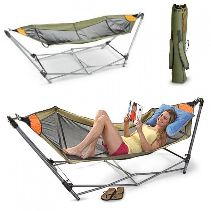 Portable Folding Hammock For Camping Look No Further Armored Mini