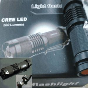 SENTER MINI CREE Q5 500 LUMENS FLASH LIGHT visit us for detail . . grosirproductchina