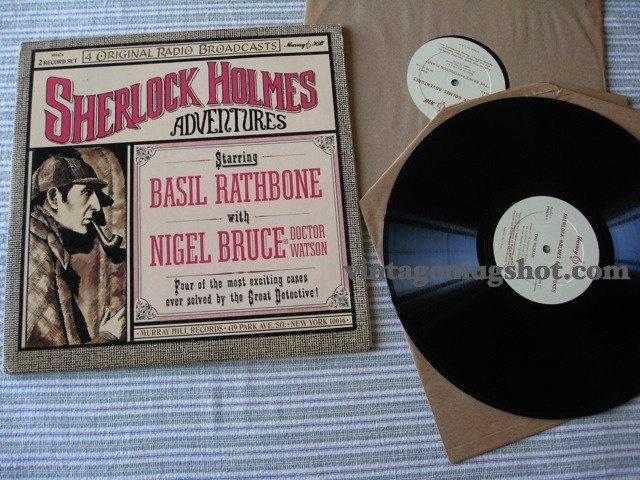 Sherlock Holmes on Vinyl. Basil Rathbone & Nigel Bruce era.