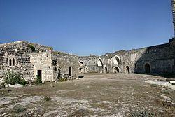 Margat, Szíria, XIII. szd. -a Szentföld legnagyobb keresztes lovagvára