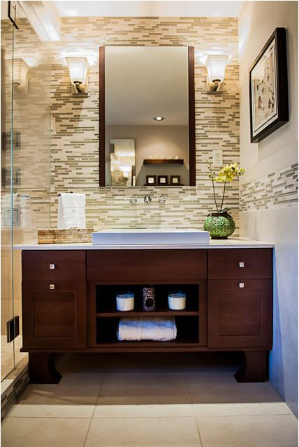 Asian Inspired Bath Renovation U2013 New England Design Elements