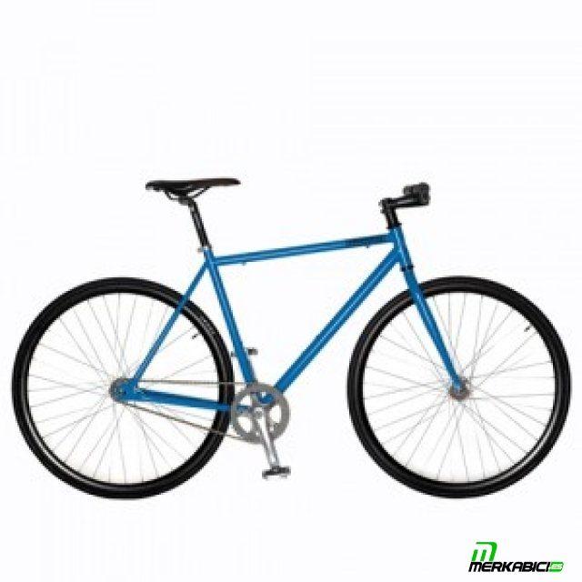 La kamikaze es la bici de piñón fijo más económica.Se entrega sin frenos.Kamikaze se caracteriza por su robustez y polivalencia, su geometría permite utilizarla de bicicleta de tucos o de bicicleta urbana, fabricada en acero es resistente a los golpes, tiene punteras de pista, de serie viene con un buje trasero flip flop con opción de piñón fijo o single speed y tiene la opción de ponerle ambos frenos (no incluye frenos).