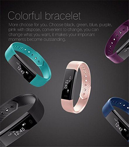 Besde Bluetooth Smart Watch Wristband Pedometer Sport Fitness Tracker Bracelet (A, Black)   Feature: 1.Display Health Parameters This smart wristband can display the time, date, steps, distance and calories clearly.While paired with AP