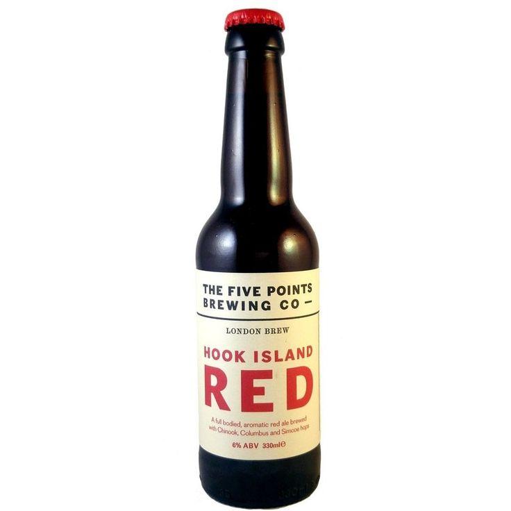 Five Points Hook Island Red 6% (330ml) -Hop Burns & Noir