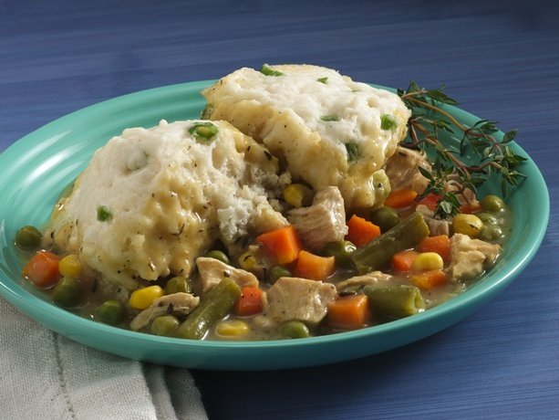 Savory Chicken Stew and Dumplings (Cooking for 2)Savory Chicken, Chicken Dinner, Dumplings Cooking, Healthy Recipe, Chicken Dumplings, Chicken Stew, Homemade Chicken, Heart Smart, Chicken And Dumplings
