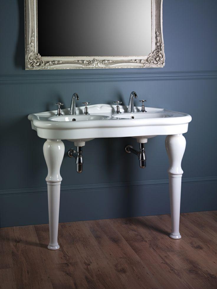Elysee double console basin www.astonmatthews.co.uk