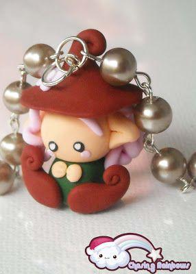 Collezione Profumo di Neve - Collane Fatine (Melody) #xmas #kawaii #cute #sweet #handmade #jewels
