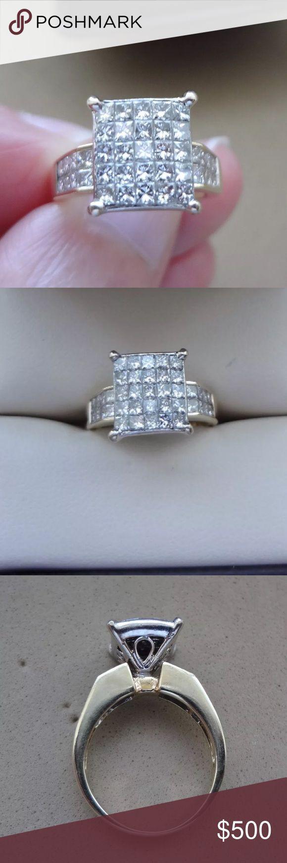 Gorgeous 1.10 carat 14k yellow gold diamond ring Gorgeous 1.10 carat 14k yellow gold diamond ring Jewelry Rings