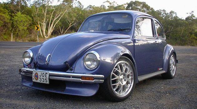 Super Beetle with Subaru WRX engine