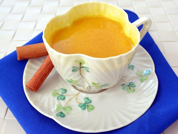 Maca-Infused Golden Milk Turmeric Tea