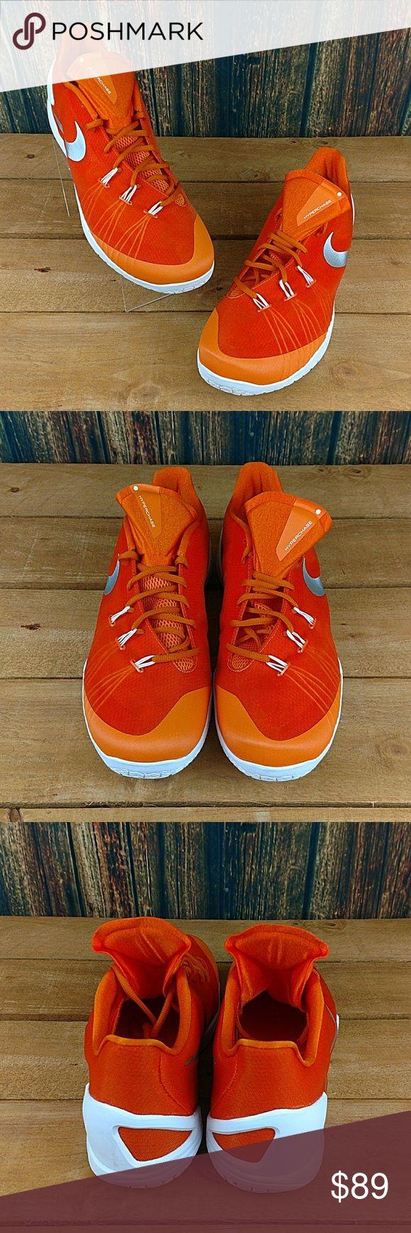 NIKE MEN'S HYPERCHASE TB ORANGE BASKETBALL SHOES NIKE MEN'S HYPERCHASE TB ORANGE BASKETBALL SHOES  US 18 UK 17 EUR 52.5 CM 36  NEW WITHOUT BOX  #1424 Nike Shoes Athletic Shoes