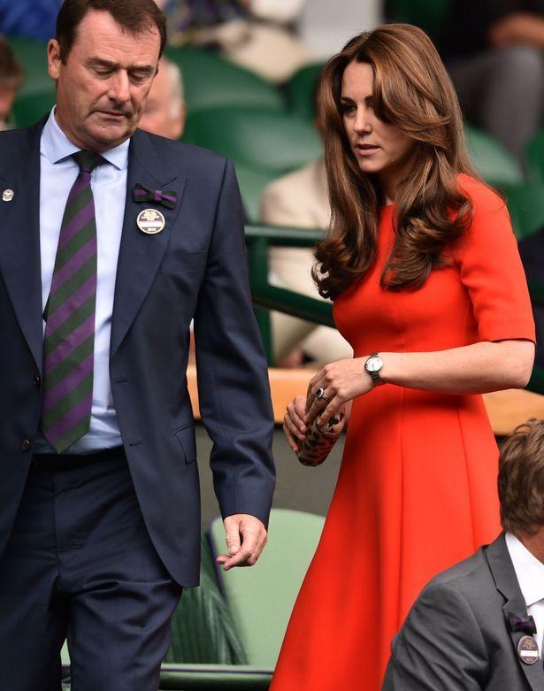 Effortlessly dazzling: Kate Middleton in the Royal Box