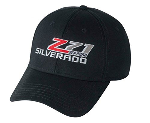 Silverado Z71 Off Road Hat (Black) One Size  Light-weight microfiber twill  Low-profile, structured crown shape  Buckram-fused front panels  StayDri moisture management sweatband  Pre-curved PE visor.