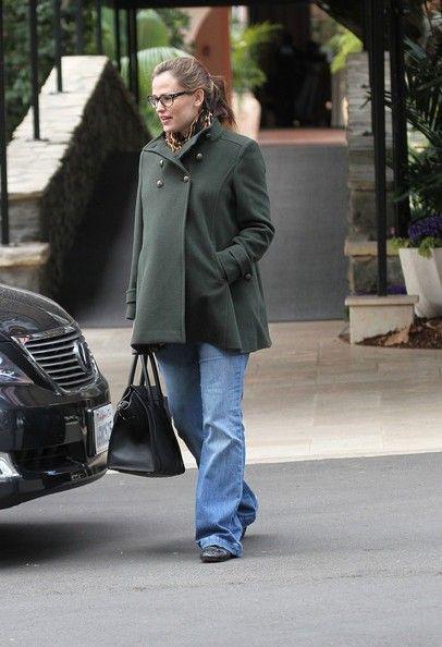 Jennifer Garner | Isabella Oliver Maternity Pea Coat | Maternity Clothes