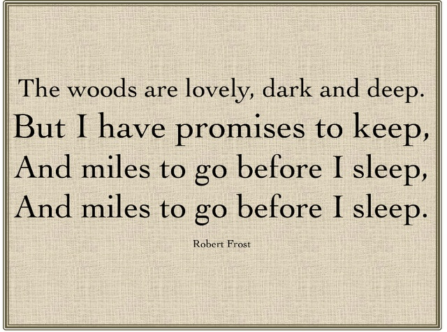 Robert Frost Poetry – HSC English Discovery