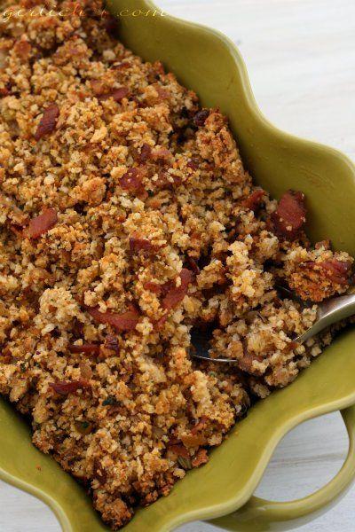 Cornbread Stuffing w/ Bacon by Heather Schmitt-González