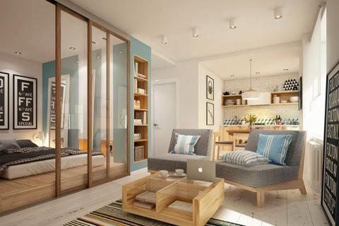 Материалы в интерьере квартиры