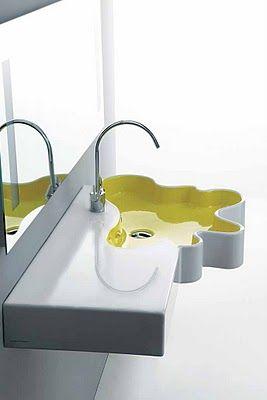 If It's Hip, It's Here: Add A Splash Of Fun To Your Bathroom With Disegno Ceramica Sink Basins & Shower Trays